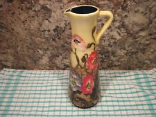 OLD TUPTON WARE TUBE LINED JUG. 25 cm TALL. AS PICTURED.