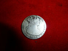 Rare Shipwreck 1808 Spanish Silver 8 Real Milled Coin - Found On Florida Beach