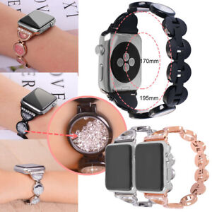 Bling Band For Apple Watch Series 654321 Wristband Bracelet with Rhinestone Sand