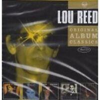 "LOU REED ""ORIGINAL ALBUM CLASSICS"" 5 CD NEW!"