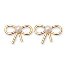 Pink Yellow Gold Fine Earrings