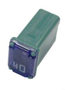 Flosser 608840 40 Amp Micro Cartridge Fuses - FMM MCASE Type - Made in Japan