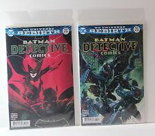 Batman Detective Comics 935 Cover A & B Variant Lot Dc Rebirth 2016 1st Printing