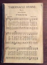 Tabernacle Hymns No. 2 (No Cover, 1921) SheetNoteMusic.com