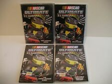 NASCAR OFFICIAL DVD LOT: (4) STEWART,KAHNE,MONTOYA.Jr JOHNSON (FREE SHIP/GIFT)