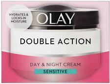 Olay Double Action Moisturiser Day and Night Sensitive Cream Face Care 50 ml