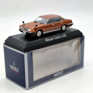 NOREV 1/43 Nissan Cedric 430 1979 Brown Diecast Models Limited Collection