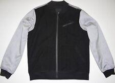 New Hurley Mens Protect Bomber Full Zip Lined Street Casual Jacket Medium