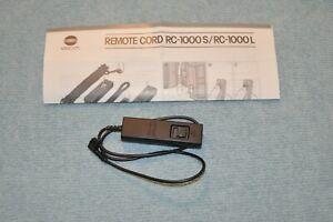 Genuine Minolta Remote Control Release Cable RC-1000S