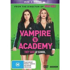 VAMPIRE ACADEMY-Joey Deutch, Gabriel Byrne-Region 4-New Sealed