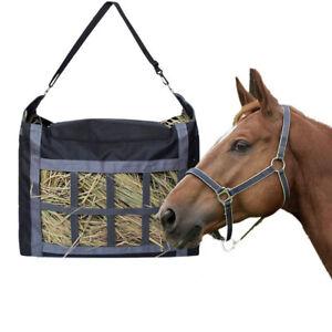 Horse Hay Bag Slow Feed Feeder Tote Bags Large Capacity Feeding Bag For Horses