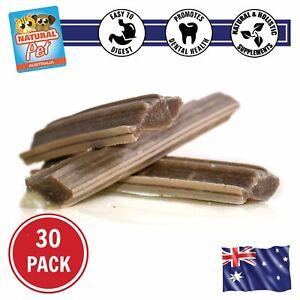 Hard Dental Omega Fish Sticks - 100% Australian Natural and Healthy Dog Treats,