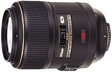 Nikon AF-S VR Micro-NIKKOR 105mm f/2.8G IF-ED Vibration Reduction Fixed Lens ...