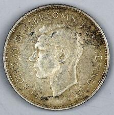 1944 Australian Sixpence