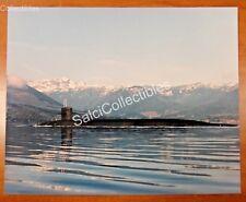 Us Navy Attack Submarine Ship Photo 8x10 Ssn-729 Uss Georgia Olympic Mountains