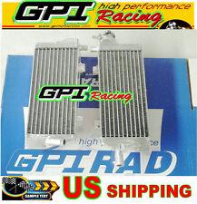 aluminum alloy radiator KTM 125/200/250/300 SX/EXC/MXC 2008 2009 2010 2011 2012