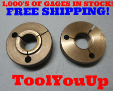 1 1/16 10 NA 2G THREAD RING GAGES 1.0625 GO NO GO P.D.'S = 1.0045 & .9887 TOOL