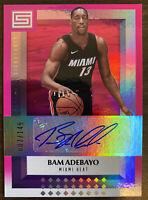 2017-18 Panini Status Bam Adebayo Autograph RC #7/149 Miami Heat Invest! 🔥