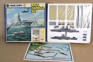 TRIANG MINIC SHIPS ROYAL NAVY NAVAL HARBOUR SET HMS BULWARK & VANGUARD SEALED nz