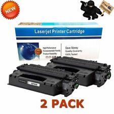 2pk Q7553X 53X Black Toner Cartridge for HP LaserJet M2727nf M2727nfs MFP P2015