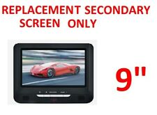 """9"""" REPLACEMENT SCREEN FOR CAR PORTABLE DVD PLAYER w USB SD 12v 240v"""
