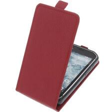 Custodia per CAT S40 CUSTODIA CELLULARE modello Flip Case Rosso