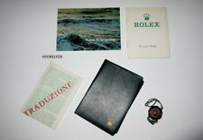 ROLEX VINTAGE BOOKLET SET SUBMARINER 5513 1680 RED SEA DWELLER 1665 DOUBLE RED