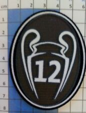 Europe Patch badge Champion's League 12 maillot de foot Real Madrid 2017 / 2018