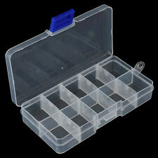 10Compartments Fishing Fish Hook Bait Lure Box Tackle Storage Container CasNecu