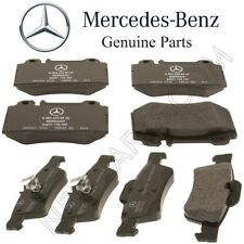 For Mercedes R230 SL500 W220 S430 Base Set of Front & Rear Brake Pad Genuine