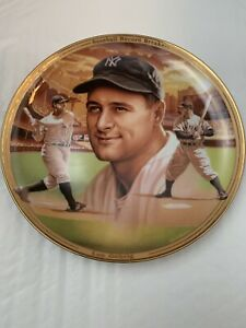 The Bradford Exchange Fine China Plate Of Lou Gehrig