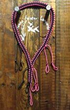 Duck / Goose / Predator Call Para cord Lanyard Pink / black Hand Made