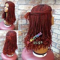 Handmade African Braided Box braids wigs