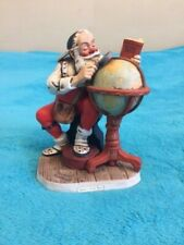 "Vintage Norman Rockwell ""Santa's Good Boys"" Porcelain Figurine"