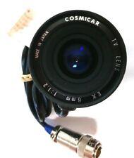 Cosmicar CCTV Security Camera TV Lens EX 6mm 1:1.2