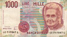 BANCONOTA REPUBBLICA ITALIANA DA 1000 LIRE Fazio-Amici 32-48