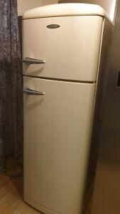 Gorenje  Retro Style Freestanding Fridge Freezer - cream
