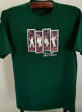 John Travolta Saturday Night Fever Green Gaphic T-Shirt (Mens XLarge)
