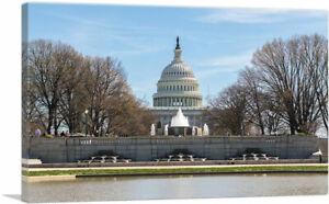 ARTCANVAS US Capitol Building Canvas Art Print