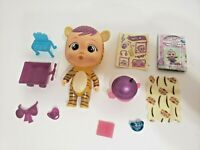 Orange Tiger Cry Babies Magic Tears Fantasy Mini Dolls Winged House NEW