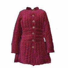 Medieval-Armour-Thick-Pad ded-Red-Gambeson-Play-Movi es-Theater-Custome-m-to-9x l