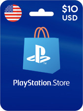 Playstation Network PSN Card $10 USD (US Store) 🔥Instant Delivery🔥