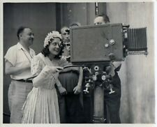 ARLETTY-Madame sans gêne-R.RICHEBE-1941 -13X16 cm-TBE-N & B-RARE tournage