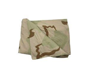 Custom Army Body Pillowcase Camouflage Barracks Canvas Bedding Heavy Vintage
