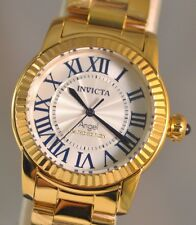 New Ladies Invicta 21099 Angel Swiss White Dial Cruiseline Luxury Watch
