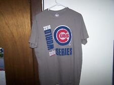 '47 Brand - Chicago Cubs Shirt  M -  MLB (USED) 2016 World Series