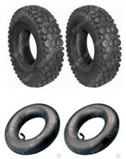 (2) 4.10 x 3.50 - 5 Tires & (2) Tubes Go-Kart Cart GoKart GoCart Mini-Bike