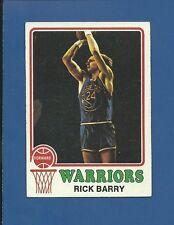 1973 Topps # 90 Rick Barry - HOF - Warriors - EX - additional ship free