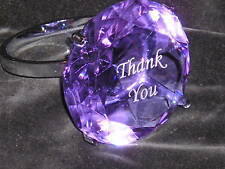 Etched Message  Paperweight Ring Thank You Gift