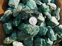 3000 Carat Lots of Fuchite  Rough - Plus a FREE Faceted Gemstone